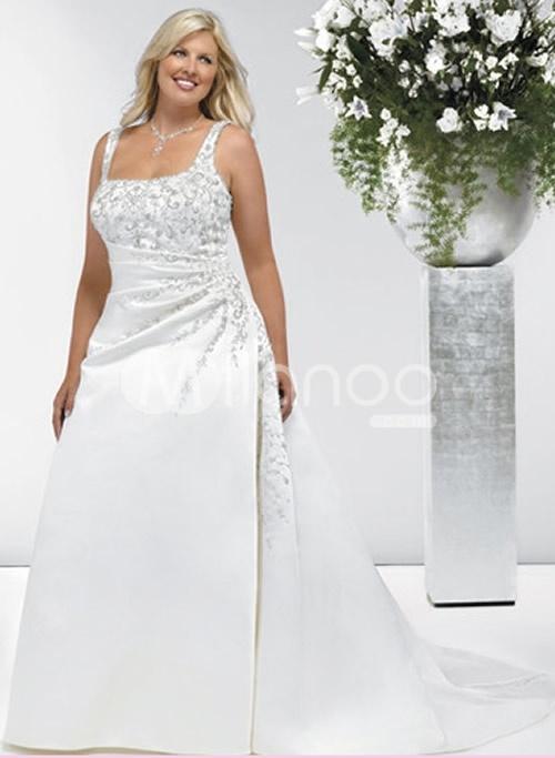 wedding dress for plus size