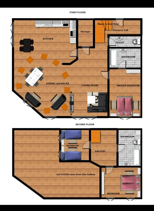 Floor plan. Attic ApartmentPragueFloor PlansApartments