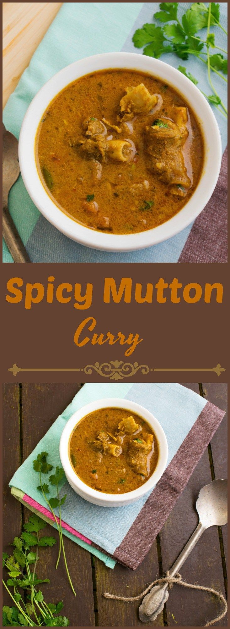 how to make spicy mutton curry