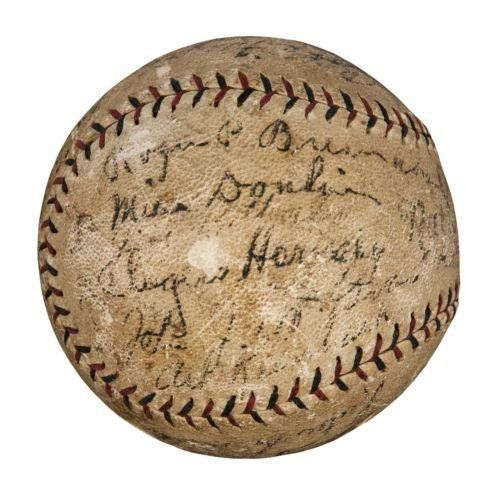 1926 St. Louis Cardinals World Series Champs Team Signed Baseball W/ Babe Ruth - Autographed Baseballs ** For more information, visit image link.