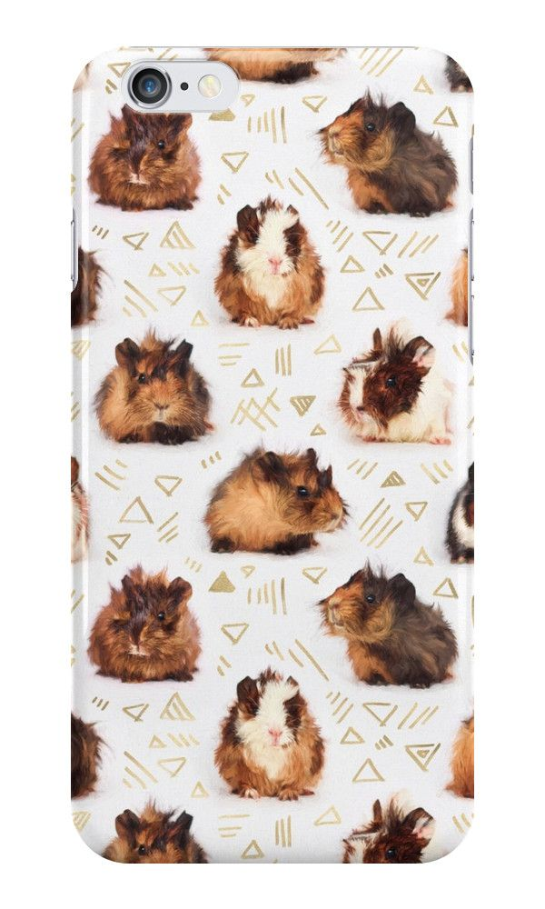 """The Essential Guinea Pig"" iPhone Cases & Skins by micklyn 
