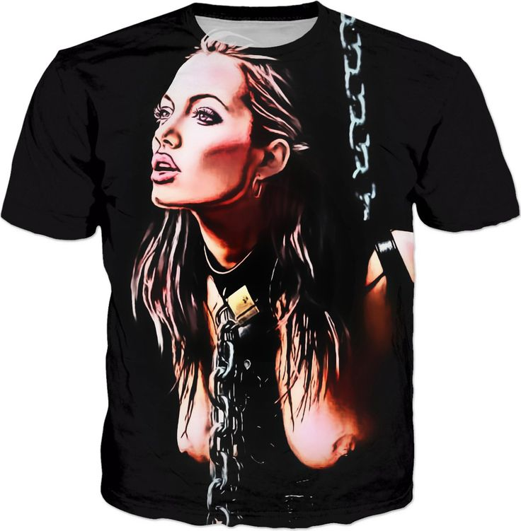 Celebrity in bondage, sexy Angelina slave in cartoon style, naughty adult tee shirt design - for more art and design be sure to visit www.casemiroarts.com, item printed by RageOn at www.rageon.com/a/users/casemiroarts - also available at www.casemiroarts.com This product is hand made and made on-demand. Expect delivery to US in 11-20 business days (international 14-30 business days). (time frames are aproximate) #shirts #clothing #style #unique #tees #fashion #apparel #kinky #naughty #sexy