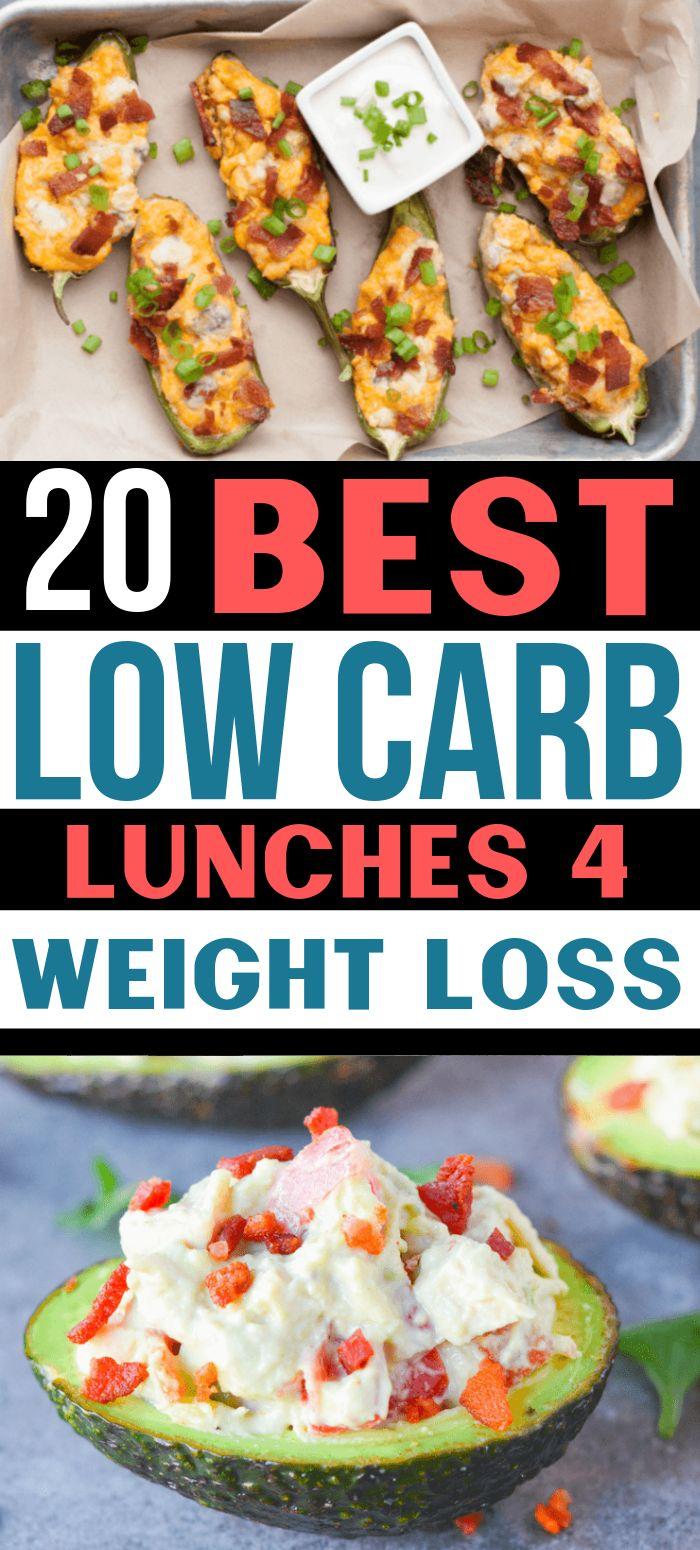 ¡Estos almuerzos bajos en carbohidratos son INCREÍBLES! Ahora tengo tantas recetas de almuerzo keto así que …