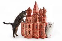 Poopy Cat Landmarks - Speelhuisje - Kremlin