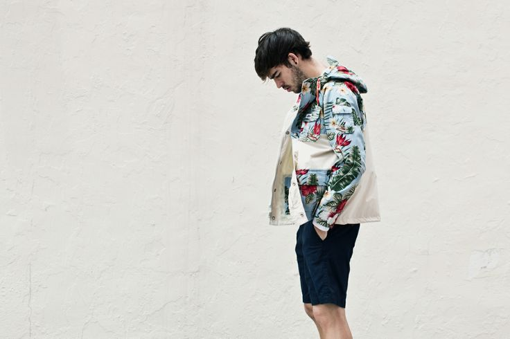 """.Penfield 2014 Spring/Summer """"Palm Print"""" Collection."""