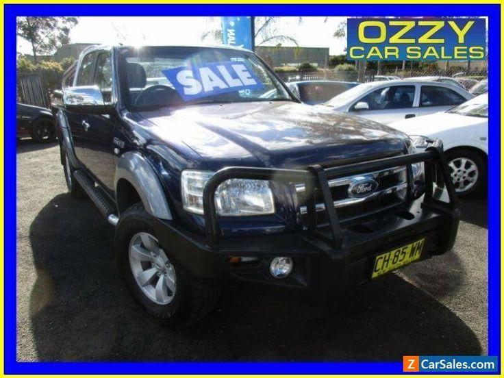 2007 Ford Ranger PJ XLT (4x4) Blue Manual 5sp M Super Cab Pick-up #ford #ranger #forsale #australia