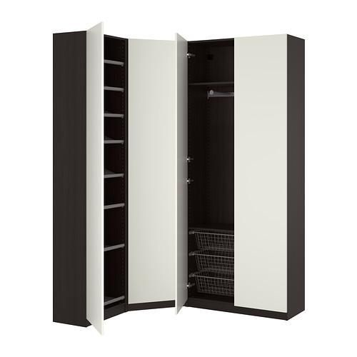 Угловые шкафы-купе от ИКЕА