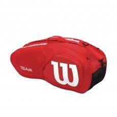 Wilson Team II 6 pack tennistas red @wilsontennis #tennis #wilson #tennistas