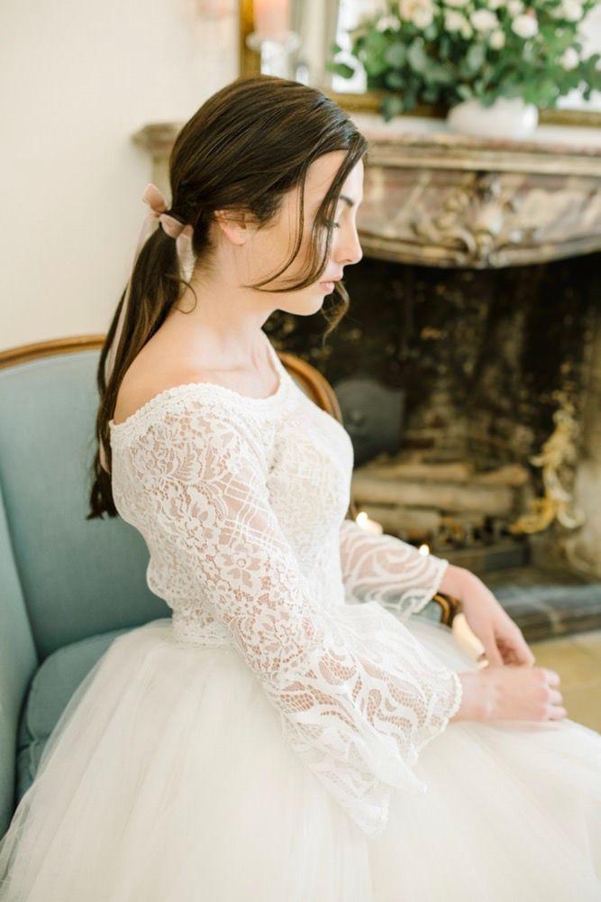 Marie Mon Amour Inspiration Fur Hochzeiten Mit Franzosischer Eleganz Kleid Hochzeit Hochzeit Brautfrisur