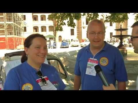 Fiat 500 alla conquista del Friuli - Le interviste a bordo: i neosposi!