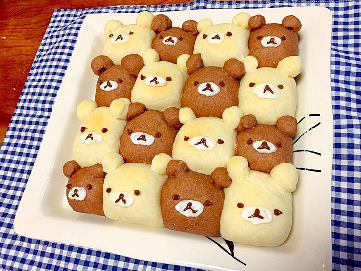 初デコちぎりパン! - ちぎりパン by hiro