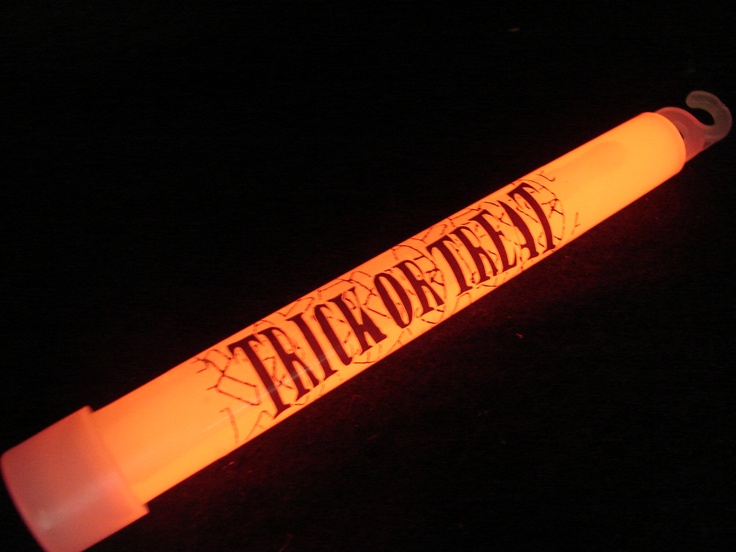 """Custom 6"""" Glowsticks.  Prices as low as $0.75 each (for 1000 or more).  Turn time is 3-4 weeks.  Call for a quote.  888.748.4755."""