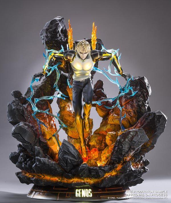 Directamente del manga y anime One-Punch Man , Tsume-Art nos presenta la impresionante figura que le dedican a Genos y que nos ofrecen den...