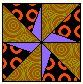 double pinwheel whirl Pinwheel Block