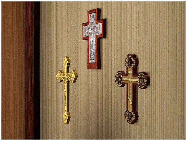 Настенные кресты