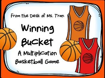All the basketball fans out there no it's MARCH MADNESS! It's an exciting time in college basketball! Bring that excitement to your class.Want to bring a friendly game of basketball to your classroom while practicing multiplication facts at the same time?