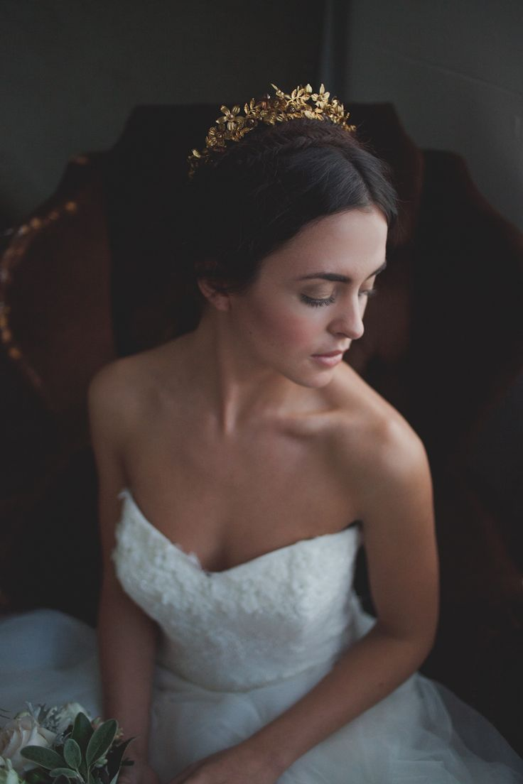 Swoon over jannie baltzer s wild nature bridal headpiece collection - 18 Spectacular Statement Bridal Headpieces For 2017