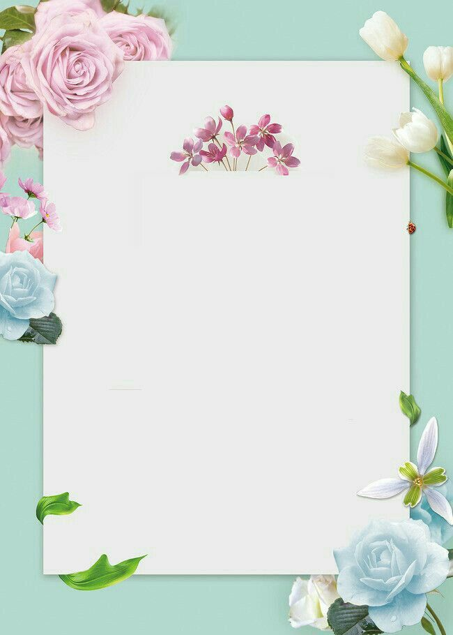 Pin By M J On Write On Colorful Backgrounds Flower Frame