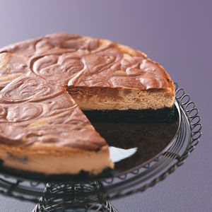Espresso Cheesecake - my favorite things, semi-sweet chocolate, coffee ...