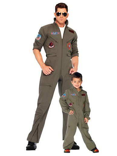 Top Gun Every Maverick needs a Goose! These Top Gun threads ($40 for child, $70 for adult) are perfect for a father-son costume.