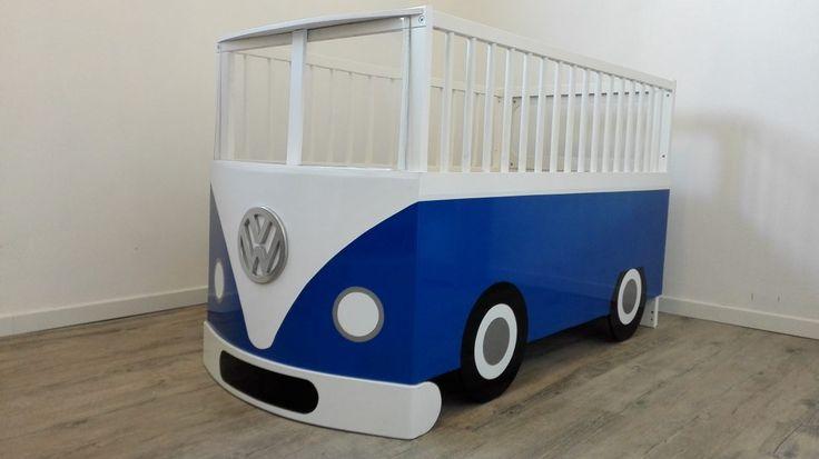 Un lit bébé Combi Volkswagen avec le lit Gulliver  #bébé #Gulliver #ikea #lit