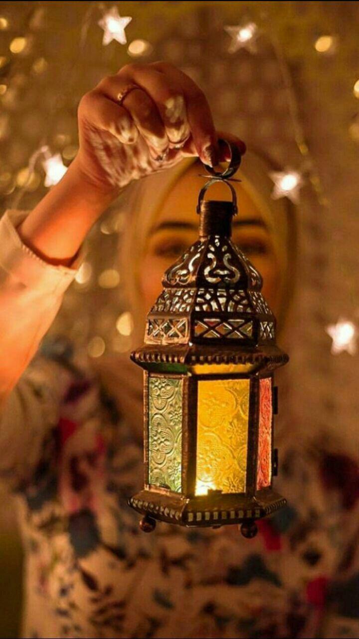 خلفيات ايفون Ramadan Lantern Ramadan Kareem Decoration Islamic Girl