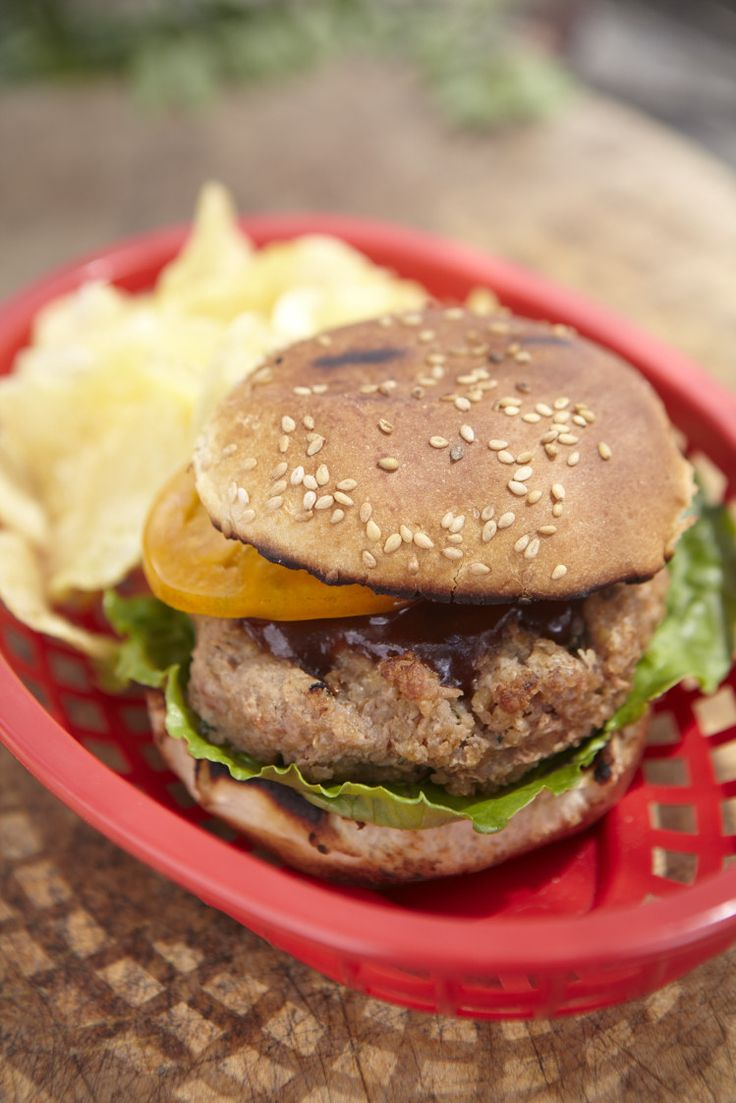 Veggie Burger by sweetpaul: Made with chickpeas, bulgur,egg and breadcrumbs and seasoned with groundginger, cumin mustard and mayo. #Veggie_Burger #sweetpaul: Chocolates Trifles, Sweetpaul, Veggies Recipe, Cumin Mustard, Veggies Burgers Recipe, Sweet Paul, Veggie Burgers, Vegetarian Burgers, Chickpeas