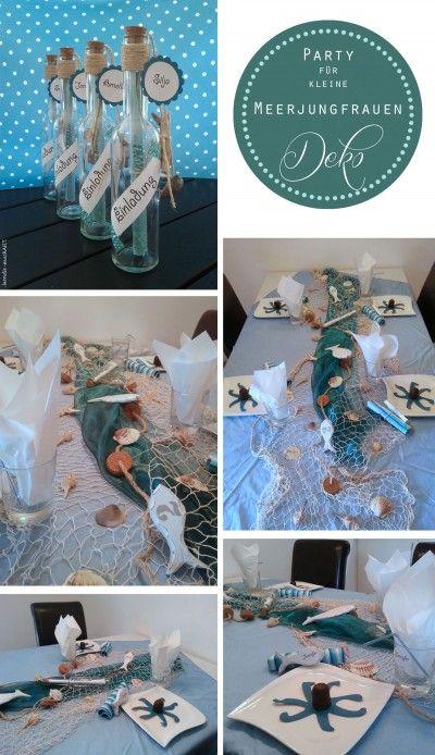 Mermaid-Party | DIY-Ideen