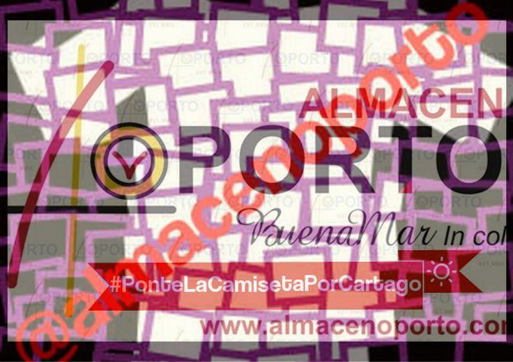 Ponte La Camiseta Por Cartago #CompreEnCartago Opinión, Gerente Fundador @almacenoporto