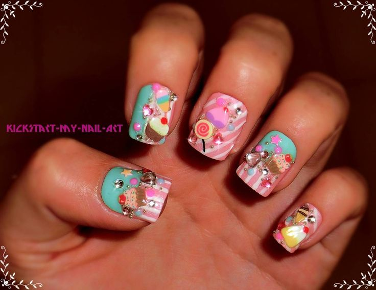 222 best Nail Art Designs images on Pinterest | Nail art designs ...