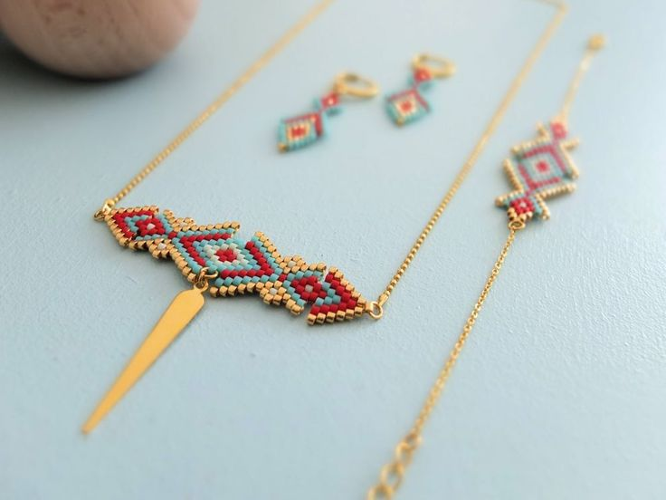 Collier ★ Osiris ★ via My-French-Touch. Click on the image to see more!