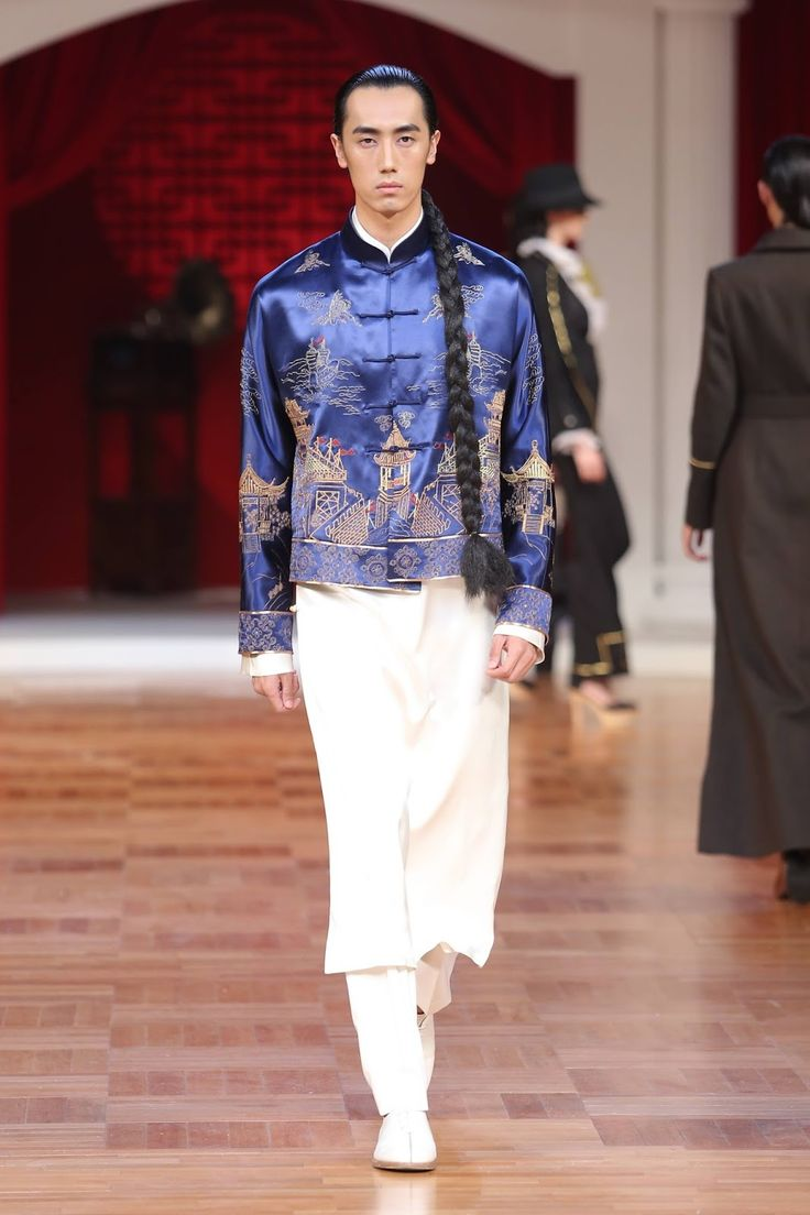 El tradicionalismo de la vestimenta china se hace presente en la colección Spring-Summer 2017 de NE·TIGER