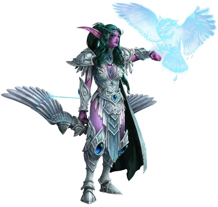 Tyrande from Heroes of the Storm