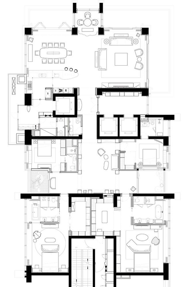 Apartment Room Blueprint 228 best apartment plans images on pinterest | apartment plans