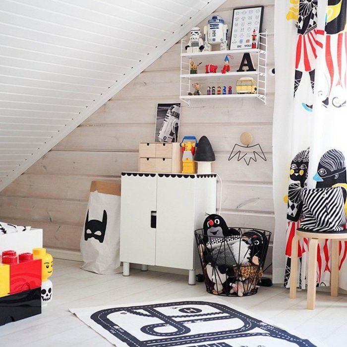 Ikea Kinderzimmer Schrank und Wandregal