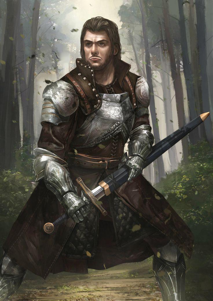 Knight Lord, TJ Foo on ArtStation at https://www.artstation.com/artwork/b5waE