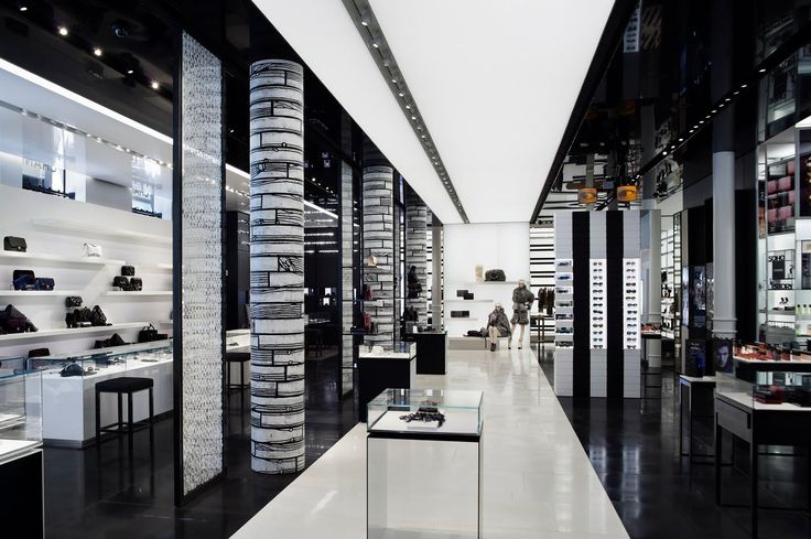 New York retail wizard Peter Marino took almost a year to transform Chanel's SoHo outpost into the brand's most fully realised melting pot of art, fashion and architecture. Description from wallpaper.com. I searched for this on bing.com/images