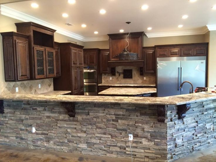 Andy Souza Masonry, Stone Bar, Stone Kitchen, Stone Design, Interior Design,