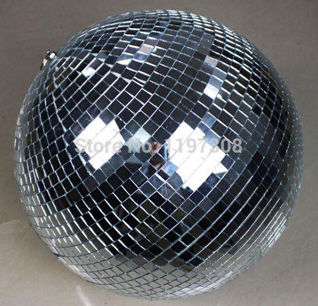 """D25cm стекло вращающегося зеркала дискотечный шар 10 """" диско DJ ну вечеринку освещение дома ну вечеринку этап KTV баров магазин праздник X'mas украшение шарами"""