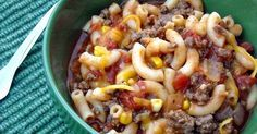Mommy's Kitchen - Recipes From my Texas Kitchen!: Bobby's Favorite Goulash {American Goulash}