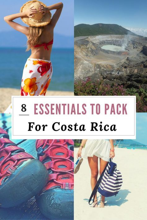 Traveling to Costa Rica. Read the Essentials to pack for Costa Rica…