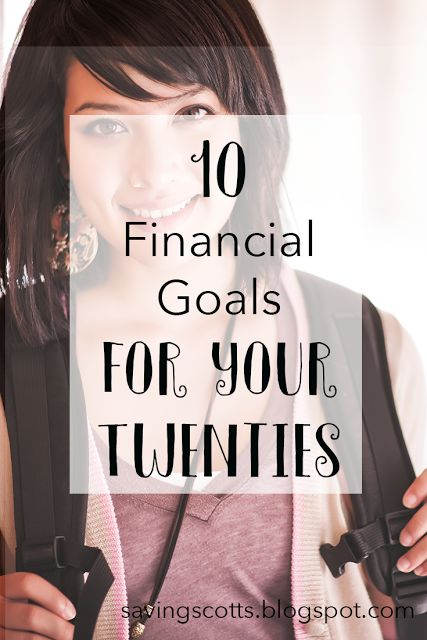 Your twenties are such important years and they can just fly by. Setting strong financial goals you can achieve in those years is important for your future. Discover the 10 most important financial goals for your 20s.