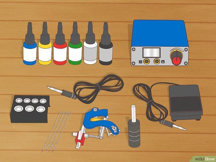 How to set up your tattoo machine with pictures learn