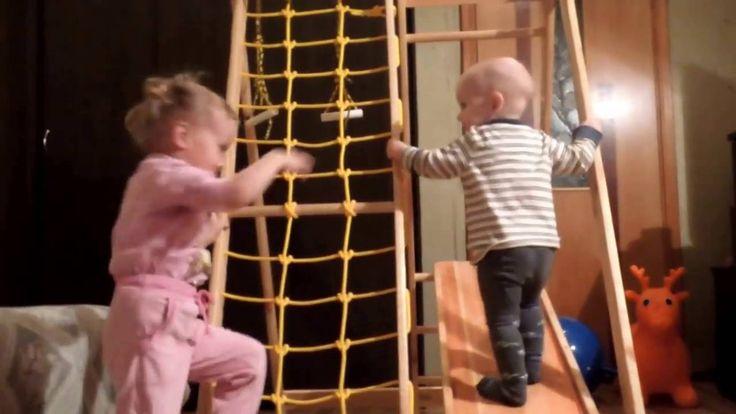 Детский уголок Т2 - Fizvospitanie76 - Kids gym T2 in action
