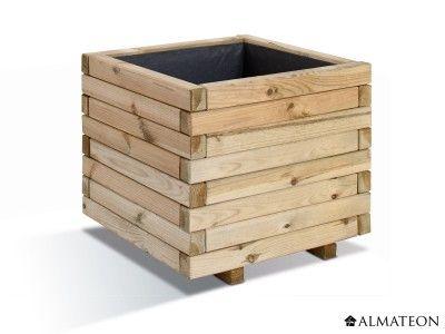 Jardinieres stockholm - Un bac à fleur esthétique avec une toile pour incorporer vos plantes La jardinière Stockholm apportera une vraie touche esthétique à votre espace extérieur et vous permettra de mettre en valeur vos plus belles compositions de plantes et arbustes. Ce bac à fleur est réalisé un bois de pin, traité en autoclave de classe 3 pour permettre au bois de résister efficacement à l'humidité. Ce pin provient de forêts d'Europe de l'Est et est certifié FSC
