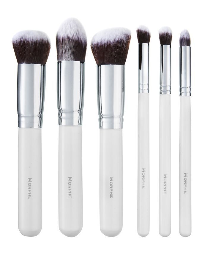 6 Piece Deluxe Contour Set (690) by Morphe Brushes