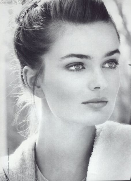 Paulina Porizkova... someone told me I looked like her once.  Floored me.