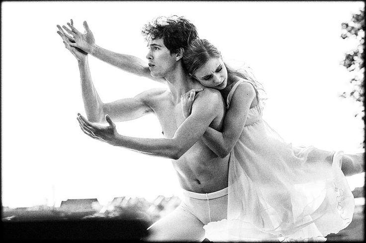 Balletdansere - taget af Karen Riggelsen