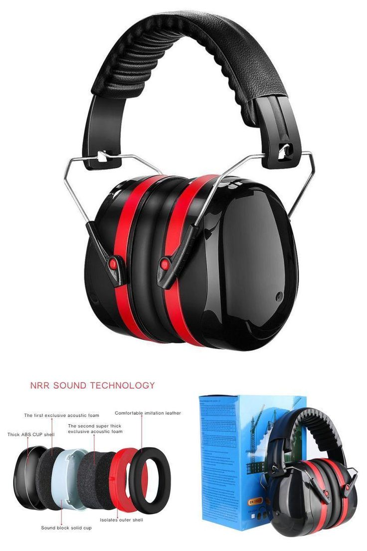 The Over-The-Head Earmuffs offer the premium ear protection with a Noise Reduction Rating (NRR) of 34dB for exposure to loud noises that can cause hearing damage. The headband is padded for comfort, and swivel cups help to ensure a secure, custom fit. These earmuffs are ideal for applications such as airport, factory, metal processing, automotive manufacturing, construction site and shooting.