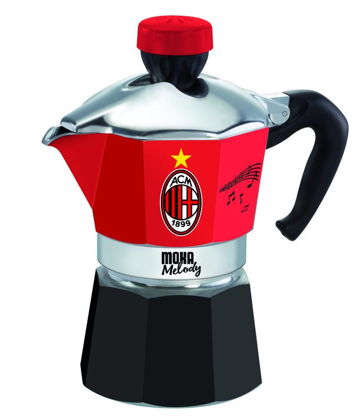 Quest'anno i rossoneri avranno un nuovo tifoso in cucina! #MokaMelodySport #Milan